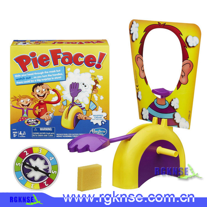 Funny Games Pie Face Plastic Game Toy, Pie Face Game For Party and Christmas