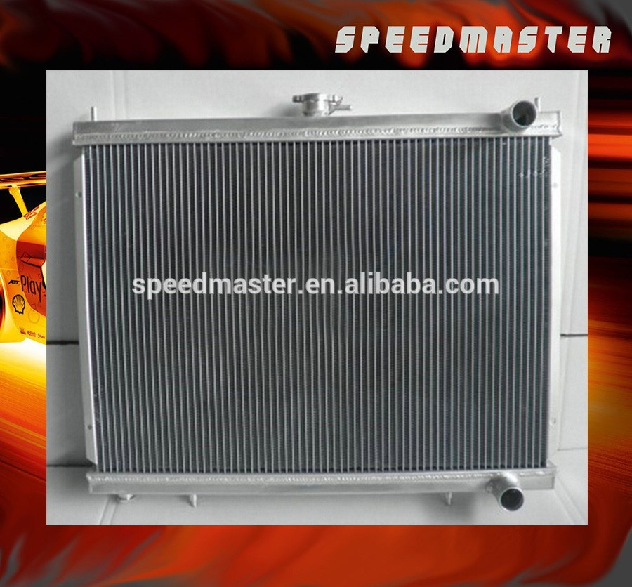 All aluminum racing car radiator for CHEVY Biscayne/Impala/Bel Air 60-65 AT