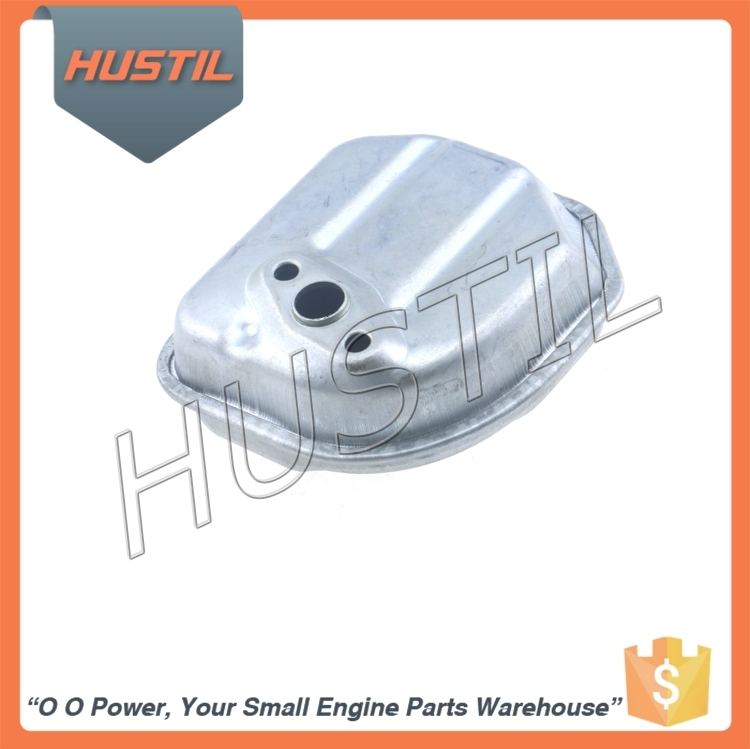 Durable Gasoline Brush Cutter Spare Parts Muffler for GX35 Grass Trimmer