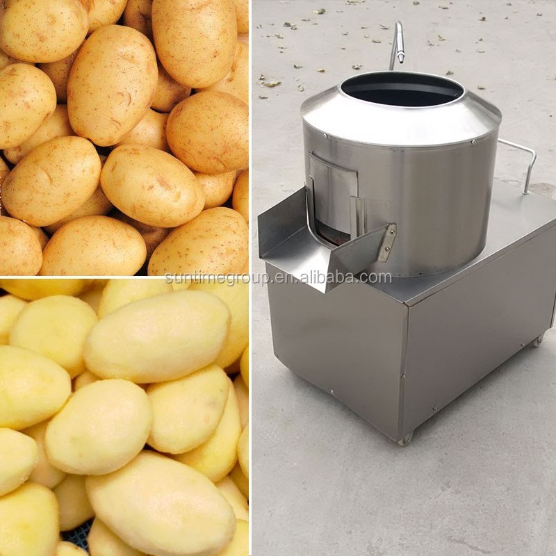 Industrial vegetable cutter potato peeling machine