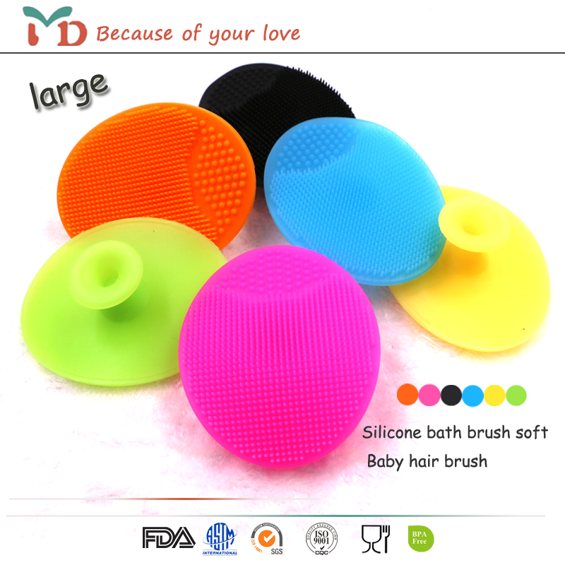 New Arrival!! comfortable silicone body bath massage shower brush