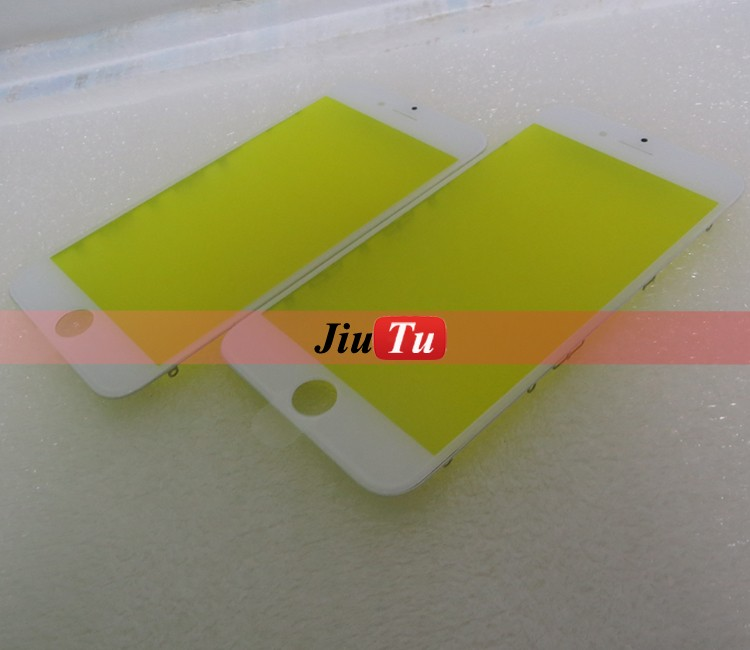 9TU-F465 Cold Press Glass + Bezel For iphone 6 Plus LCD Replacement Part Panel
