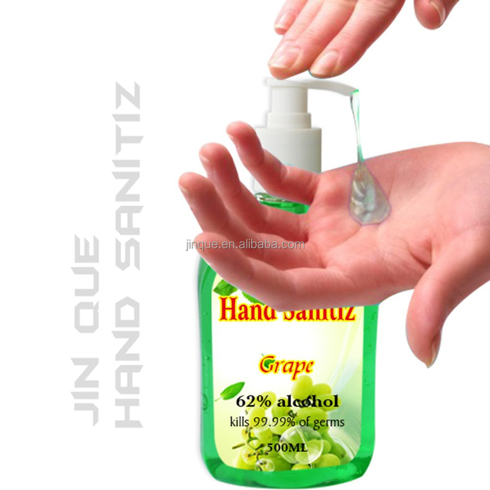 Samples Are Available Custom Personal Care Alcohol Gel Hand Sanitizer