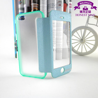 funny silicone case for iphone 5 new leather folding wallet flip case
