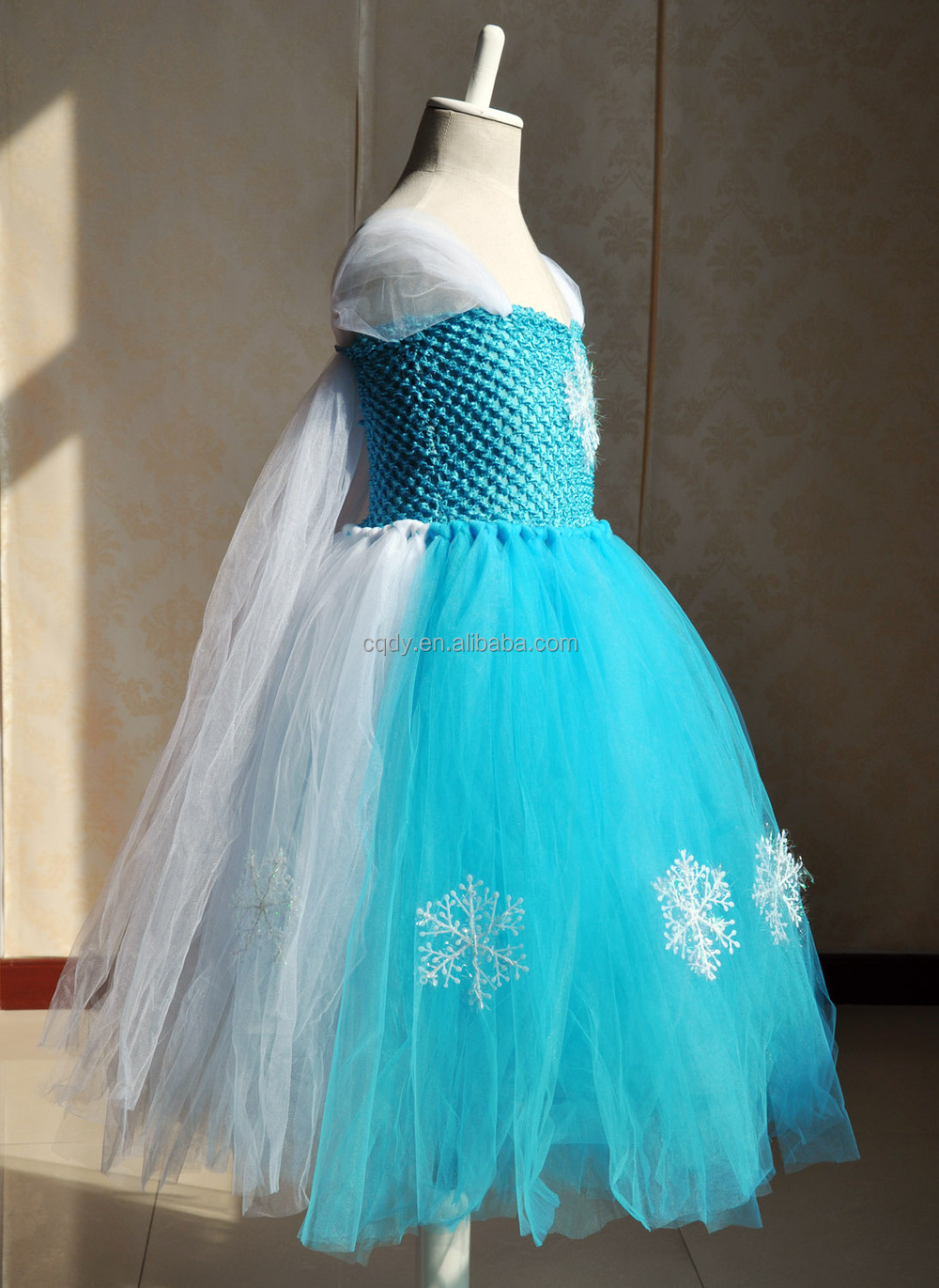 2017 New Arrival Custom Made Frozen Elsa Princess Dress Costume For ...