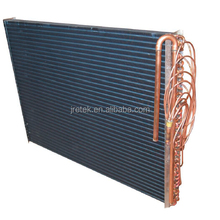 copper tube fin type condenser for ice maker