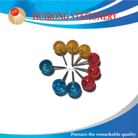 Wholesales round head pin and assorted color map pin