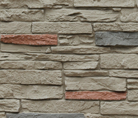 Building Materials Faux Panel Siding Yard Slate Stone