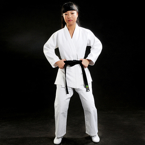 Pearl crystal weave cotton uniform judo gi club suit clothes
