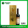 OEM cheap gift packing wine bag for wholesales