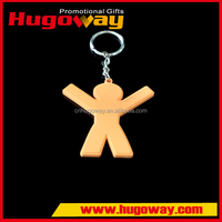 Promotional custom 3D soft PVC key chain