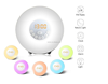 Sunrise Simulation Snooze Light Alarm Clock
