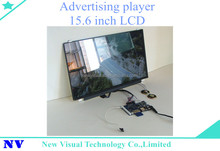 Self design adverting on the wall bus lcd digital advertising media player