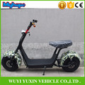 2017 new product two big wheels citycoco 1000W 60V electric scooter electric motorcycle