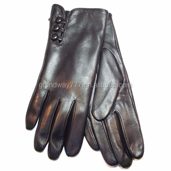 Welcome OEM ODM fashion men winter leather motorbike gloves