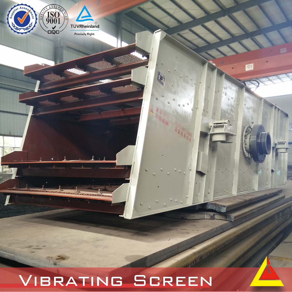 High Efficiency Mining Vibrating Screen Used for Minal Size Selection