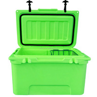 45L durable plastic insulated ice chest