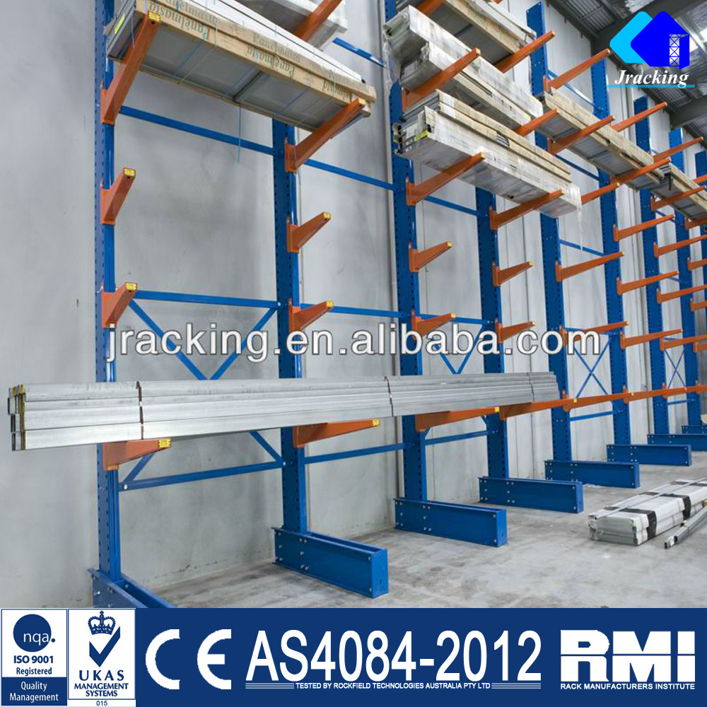 Nanjing Warehouse Heavy Duty Cantilever Storage Metal Rack