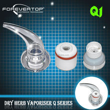 Factory price unique design Q1 horn-shaped pen gun price dry herb vaporizer Q1