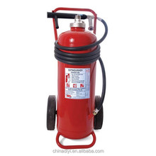 BC dry chemical powder fire extinguisher 50kg , White and Red Color fire extinguisher bottle