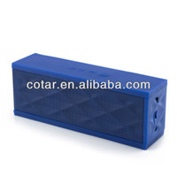 2013 latest design wireless bluetooth speaker with MIC and SIRI function for phone (model GKA3)