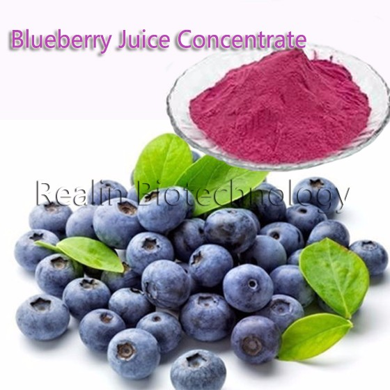Pure Natural Instant Blueberry Juice Concentrate Powder