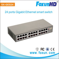 FOXUN hot sale !!!24 channel smart gigabit ethernet switch,with 8K MAC address