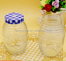 wholesale best selling products cheap honey glass jars in stock/recycled glass jars for honey or candy