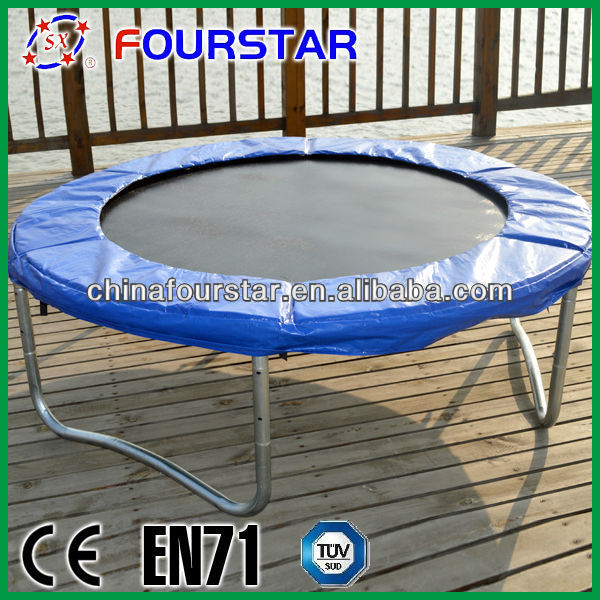 Fitness China Professional Trampoline Bed Round Kids Outdoor Fourstar Jumping Trampoline Tent