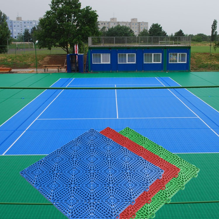 2016 Hot New Hot Sale temporary pp paddle tennis court floor