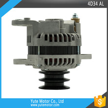 YTM 4D34 24V 45A 2B ME037620 PULLEY TRACTOR TRUCK EXCAVATOR alternator