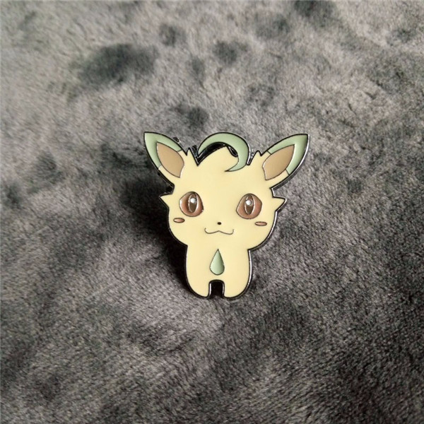 Pokemon Badges Brooch Pin Cute Pokemon Eevee Metal Model Collection With Box Kids Creative gift Spot sales
