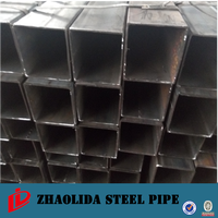 erw greenhouse pipe ! high quality square steel pipe/tube hollow section black annealing steel square pipe
