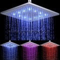10 inch Rainful LED overhead shower with temperature detectable