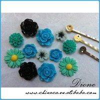 resin flower cabochons resin preserved flowers for jewelry