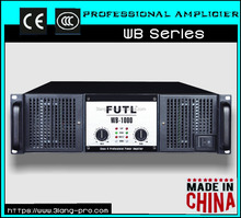 China Cheapest 2600w big power 2 channel qsc power amplifier professional sound standard techno 4