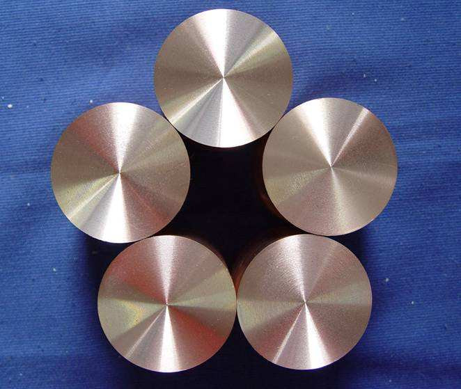 Tungsten Copper Alloy rod, WCu round bar in Wolfram Alloy (W55,W65,W75,W80,W85)