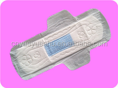 disposable blue incored pads with ultra thin