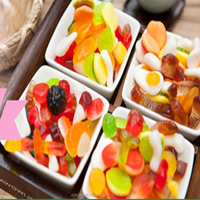 Xiaoxixi Food OEM halal jelly sweets Sour jelly candy factory