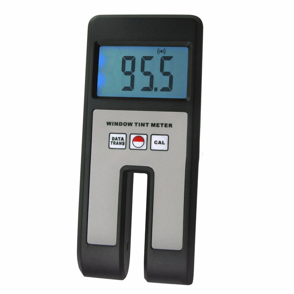 Digital Window Tint Visual Light Transmission Glass Film Meter 0~100% Light Transmission Range Plexiglass Plastic