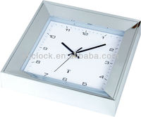 12 inch Square Plastic Radio Contrlled Wall Clock WH-6900 for Decoration