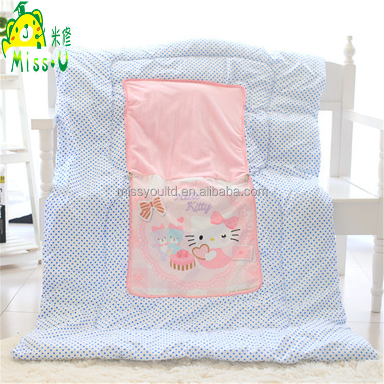 Lovely Personality Cartoon Air conditioning Plush Quilt