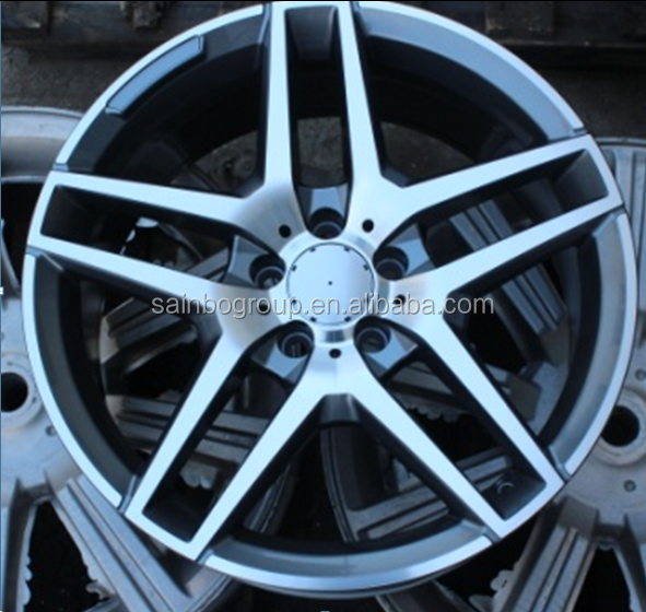 20 inch casting wheel rims with pcd 112, 5x120 rims 5 hole car alloy wheels F0234
