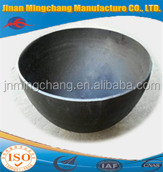 High cost performance hemispherical head for fire pit fire bowl seal lids
