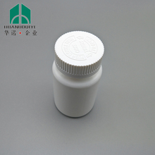 pop top HDPE Plastic bottle 125ml with child proof cap for Pill capsule