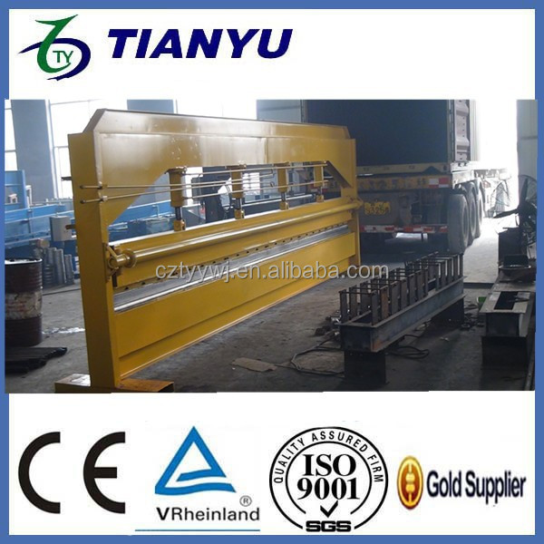 4 meter Hydraulic automatic roofing panel bending roll forming machine
