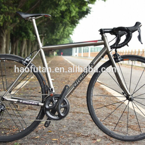 Titanium road bike frame 700C ULTEGRA 6810 Direct Mount Flat Mount Disc brakes