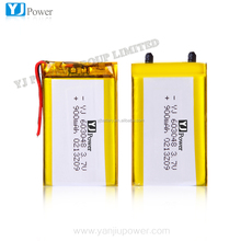 12v car battery charger 3.7v 900 mah ithium ion battery with smallest rechargeable battery for mobile phone ,bluetooth bms