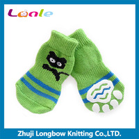 PS042 2016 hot sale factory directly green cat custom made dog footwear