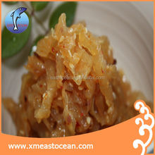 Hot sale spicy seafood frozen seasoned sea blubber salted jellyfish
